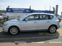 USED 2008 08 MAZDA 3 1.6 TAKARA 5d 105 BHP 1 Former Keeper .New MOT & Full Service Done on purchase + 2 Years FREE Mot & Service Included After . 3 Months Russell Ham Quality Warranty . All Car's Are HPI Clear . Finance Arranged - Credit Card's Accepted . for more cars www.russellham.co.uk  - Spare Key-Owners Book Pack.