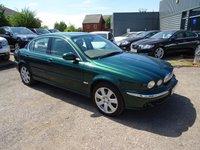 2004 JAGUAR X-TYPE 2.1 V6 SE 4d AUTO 157 BHP £1890.00