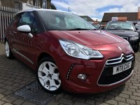USED 2011 11 CITROEN DS3 1.6 DSPORT HDI 3d 110 BHP PRICE INCLUDES A 6 MONTH RAC WARRANTY, 1 YEARS MOT WITH 12 MONTHS FREE BREAKDOWN COVER