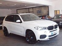"""USED 2014 14 BMW X5 2.0 XDRIVE25D M SPORT 5d AUTO 215 BHP +M PERFORMANCE KIT+21"""" ALLOYS+"""