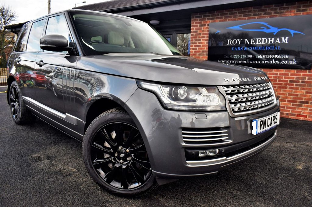 USED 2014 14 LAND ROVER RANGE ROVER 4.4 SDV8 AUTOBIOGRAPHY 5DR AUTO 339 BHP ***1 OWNER - TOP OF THE RANGE - 7K WORTH OF EXTRAS***