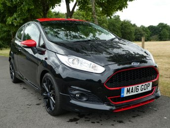 2016 FORD FIESTA 1.0 ZETEC S BLACK EDITION 3d 139 BHP £10495.00