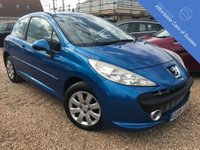 USED 2008 08 PEUGEOT 207 1.4 MPLAY 3d 73 BHP Great value Peugeot 207 taken in part exchange. Economical petrol engine.