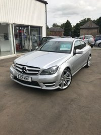 2012 MERCEDES-BENZ C CLASS 1.8 C180 BLUEEFFICIENCY AMG SPORT 2d AUTO 156 BHP £SOLD