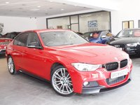 USED 2013 63 BMW 3 SERIES 2.0 320D M SPORT 4d 181 BHP M PERFORMANCE+ HEATED LEATHER