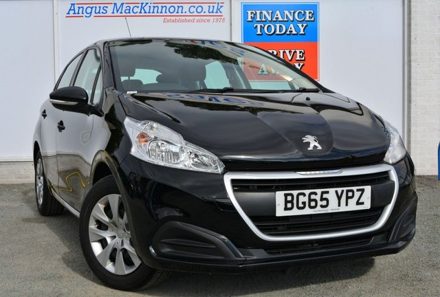 2015 65 PEUGEOT 208 1.0 ACCESS 5dr Family Petrol Hatchback with Low Road Tax 64mpg and Air Conditioning