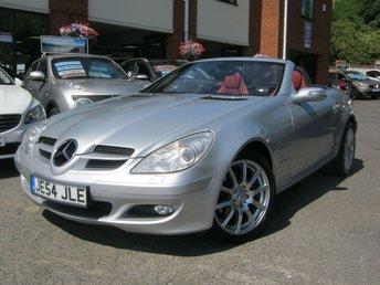 2004 MERCEDES-BENZ SLK 1.8 SLK200 KOMPRESSOR 2d AUTO 161 BHP £5995.00