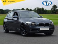 USED 2014 14 BMW 1 SERIES 2.0 116D SPORT 5d AUTO 114 BHP Cheap to tax and insure facelift model 2014 BMW 116d 2.0 Sport auto 5dr in red with only 32000 miles. Superb value at just £11799.