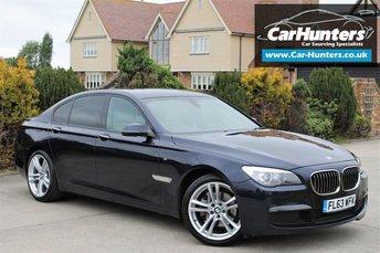 2013 BMW 7 SERIES 3.0 730D M SPORT 4d AUTO 255 BHP £17795.00