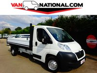 2014 CITROEN RELAY 2.2 35 L3 HDI 129 BHP DROPSIDE L3 (RARE SINGLE CAB WITH LOW MILES) £10890.00
