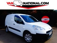 2015 PEUGEOT PARTNER 1.6 HDI PROFESSIONAL L1 625 75 BHP (one owner fsh 3 seats air con) £5990.00