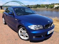 USED 2010 10 BMW 1 SERIES 3.0 125I M SPORT 2d 215 BHP **RARE MSPORT 3.0 WITH FULL LEATHER**