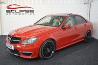 2012 MERCEDES-BENZ C CLASS 6.2 C63 AMG 4d AUTO 457 BHP £22495.00