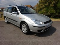 2002 FORD FOCUS 1.6 LX  AUTOMATIC ESTATE 99 BHP, 2 OWNERS 43000 MILES £1995.00