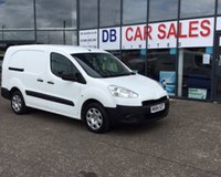 USED 2014 64 PEUGEOT PARTNER 1.6 HDI CRC 1d 90 BHP NO DEPOSIT AVAILABLE, DRIVE AWAY TODAY!!