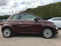 2016 FIAT 500 1.2 LOUNGE 3d ONE PRIVATE OWNER FROM NEW WITH LOW MILEAGE  £7500.00