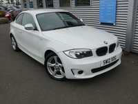 2012 BMW 1 SERIES 2.0 118D EXCLUSIVE EDITION 2d 141 BHP £8980.00