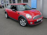 2012 MINI HATCH ONE