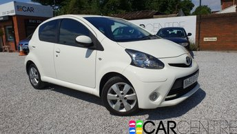 View our 2012 62 TOYOTA AYGO 1.0 VVT-I FIRE AC 5d 67 BHP