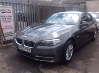 USED 2013 63 BMW 5 SERIES 2.0 520D SE 4d AUTO 181 BHP 48000 miles, automatic, diesel, executive saloon, superb, must be seen.