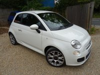 USED 2015 65 FIAT 500 0.9 TWINAIR S (SPORT) 3d 105 BHP 6 Speed 105BHP with Sport Drive Mode! Comprehensive Service History (Fiat + ourselves), One Lady Owner from new, Minimum 8 months MOT, Excellent fuel economy! ZERO Road Tax!