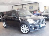 USED 2013 63 MINI COUNTRYMAN 1.6 COOPER D 5d 112 BHP +PAN ROOF+CHILLI PACK+5 SEATS+