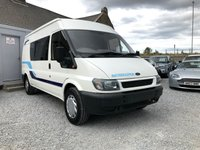 2001 FORD TRANSIT CAMPERVAN