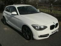 USED 2014 14 BMW 1 SERIES 1.6 116i Sport Sports Hatch 3dr (start/stop) ONE OWNER FROM NEW