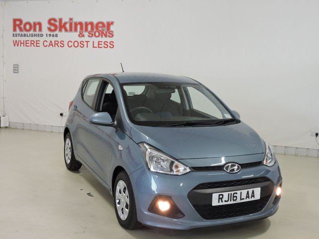 View our 2016 16 HYUNDAI I10 1.0 SE BLUE DRIVE 5d 65 BHP