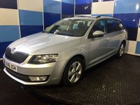 USED 2016 16 SKODA OCTAVIA 1.6 SE BUSINESS GREENLINE III TDI 5d 109 BHP A wonderful example of this highly sought after family diesel estate finished in unmarked metalic silver paintwork this car comes with satelite navigation,bluetooth phone preparation ,dab radio with media interface.cruise control with speed limiter,onboard computer,front and rear parking sensors with park pilot, plus lots more a truely wonderful car returning an amazing combined fuel ecconomy of 80.7 mpg this in conjunction with free road tax puts it in a class of its own definitely one to view.