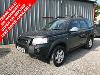 USED 2005 LAND ROVER FREELANDER 2.0 TD4 SE STATION WAGON 5d 110 BHP *** SOLD WITH 1 YEAR MOT ***