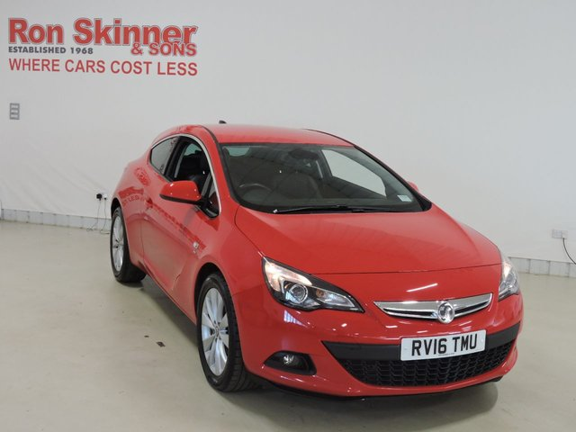 View our 2016 16 VAUXHALL ASTRA 1.4 GTC SRI S/S 3d 138 BHP