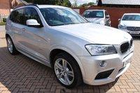 2012 BMW X3 2.0 XDRIVE20D M SPORT 5d AUTO 181 BHP £14995.00