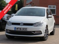 USED 2016 16 VOLKSWAGEN POLO 1.0 MATCH 5d 60 BHP OPTICAL FRONT + REAR PARKING SENSORS, FINANCE AVAILABLE