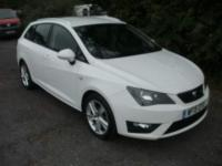USED 2015 15 SEAT IBIZA 1.2 TSI FR ST 5dr £30 ROAD TAX