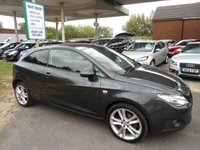 2011 SEAT IBIZA 1.6 CR TDI SPORTRIDER 3d 103 BHP 7 SERVICE STAMPS 30 A YEAR TAX £3995.00