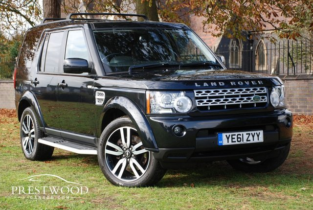 2011 61 LAND ROVER DISCOVERY 4 3.0 SDV6 COMMERCIAL [HSE SPEC] AUTO [255 BHP]