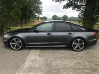 USED 2014 14 AUDI A6 2.0 TDI ULTRA S LINE BLACK EDITION 4d AUTO 188 BHP