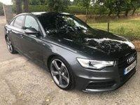 2014 AUDI A6 2.0 TDI ULTRA S LINE BLACK EDITION 4d AUTO 188 BHP £15795.00