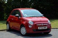 2010 FIAT 500 1.2 POP 3d 69 BHP £3295.00