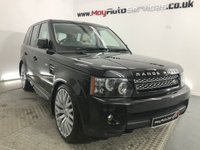 2013 LAND ROVER RANGE ROVER SPORT 3.0 SDV6 HSE Black Edition 5dr Auto  £21995.00