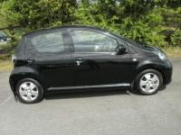 USED 2010 60 TOYOTA AYGO 1.0 Black Multimode 5dr (a/c) AUTOMATIC