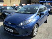 USED 2010 59 FORD FIESTA 1.4 STYLE PLUS TDCI 5d 68 BHP