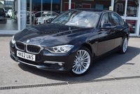 USED 2013 62 BMW 3 SERIES 2.0 320I XDRIVE LUXURY 4d AUTO 181 BHP Full Saddle Brown Dakota Leather