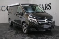 USED 2017 17 MERCEDES-BENZ V CLASS 2.1 V 220 D SPORT MARCO POLO 5d AUTO 161 BHP VAT QUALIFYING FOUR BERTH ELECTRIC POP-UP ROOF WITH LUXURIOUS DOUBLE BED AND LED READING LIGHT ELECTRIC SLIDING REAR LEATHER SEATS THAT CONVERT TO DOUBLE BED TWO RING BURNER COOL BOX AIRCRAFT LIGHTING THROUGHOUT FACTORY MARCO POLO CONVERSIONS FULLY EQUIPPED WITH TABLES AND CHAIRS AND ARE THE HEIGHT OF LUXURY POWER DOORS+TAILGATE CRUISE LANE DEPARTURE WARNING DETACHABLE TOW BAR+ ELECTRICS SMALL ENOUGH TO USE A DAILY TRANSPORT BUT PLUSH AND ROOMY ENOUGH TO HOLIDAY WHEREVER THE MOOD TAKES YOU