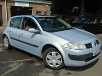 USED 2003 03 RENAULT MEGANE 1.6 EXPRESSION 16V 5d 112 BHP GREAT VALUE+MOT FEB 2019
