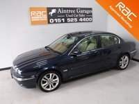 USED 2006 56 JAGUAR X-TYPE 2.5 V6 SE 4d 195 BHP A REAL EXAMPLE OF A STUNNING AND VERY WELL LOOKED AFTER PRESTIGIOUS  VEHICLE. IN MY OPINION TO BE A FUTURE CLASSIC,FULL SERVICE HISTORY 8 STAMPS, FULL LEATHER INTERIOR, SAT NAV , ICE COLD AIR CON,  REMOTE CENTRAL LOCKING, ALLOYS,  RADIO CD