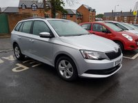 USED 2015 15 SKODA FABIA 1.4 SE TDI 5d 89 BHP EXCEPTIONALLY CHEAP TO RUN, LOW CO2 EMISSIONS, £0 ROAD TAX,  AND EXCELLENT FUEL ECONOMY!..EXCELLENT SPECIFICATION INCLUDING PARKING SENSORS, AIR CONDITIONING, ALLOY WHEELS, AND AUXILLIARY/USB! FULL SKODA SERVICE HISTORY AND ONLY 9136 MILES FROM NEW!