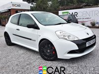 USED 2010 60 RENAULT CLIO 2.0 RENAULTSPORT CUP 3d 197 BHP 1 PREVIOUS OWNER +FULL SERVICE