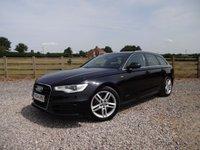 USED 2014 64 AUDI A6 2.0 AVANT TDI ULTRA S LINE 5d 188 BHP EXCELLENT SPECIFICATION S LINE WITH FULL SERVICE HISTORY
